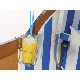 Edelstahl-Getränkehalter zum Einhängen